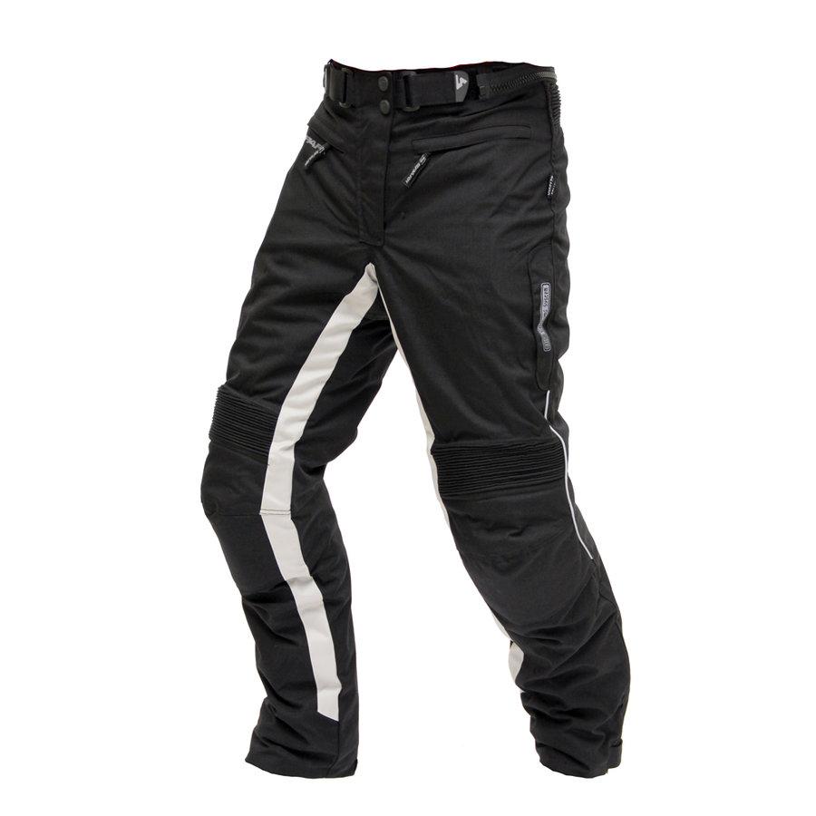 Černé dámské motorkářské kalhoty Bora 3a8552b7a8