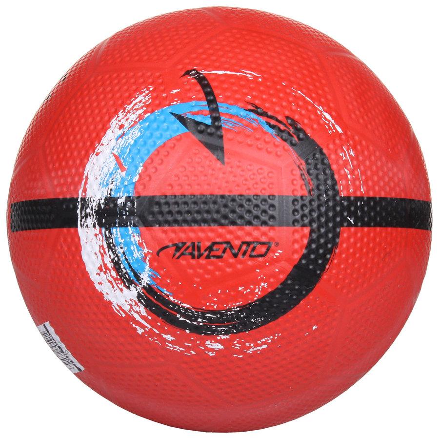 Fotbalový míč - Avento Street Football II červená č. 5
