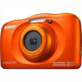 Oranžový outdoorový fotoaparát Coolpix W150, Nikon