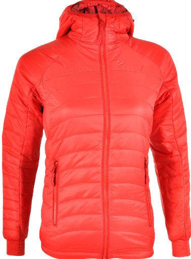 Červená zimní dámská bunda na běžky Silvini
