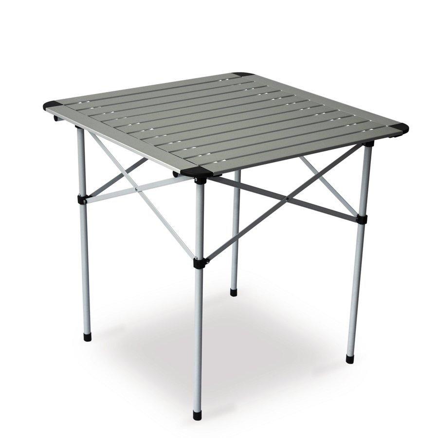 Rozkládací kempingový stůl Pinguin - délka 70 cm, šířka 70 cm a výška 75 cm