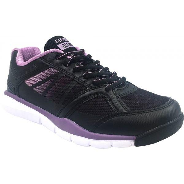 Černé dámské fitness boty Kensis