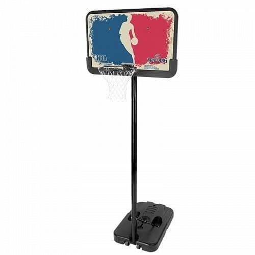 Basketbalový koš - Basketbalový koš NBA LOGOMAN PORTABLE Spalding