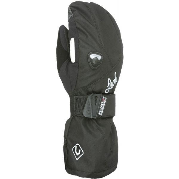 Černé dámské snowboardové rukavice Level