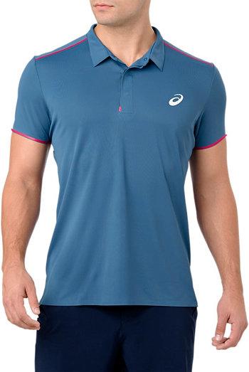 Modré pánské tričko s krátkým rukávem Asics - velikost M