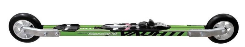 Zelené kolečkové lyže Skate Exceed Carbon, Vauhti - délka 50 cm