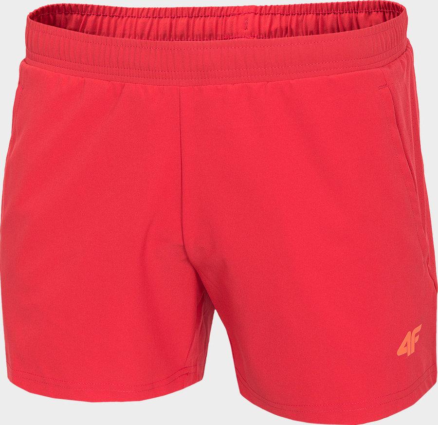 Červené pánské běžecké kraťasy 4F