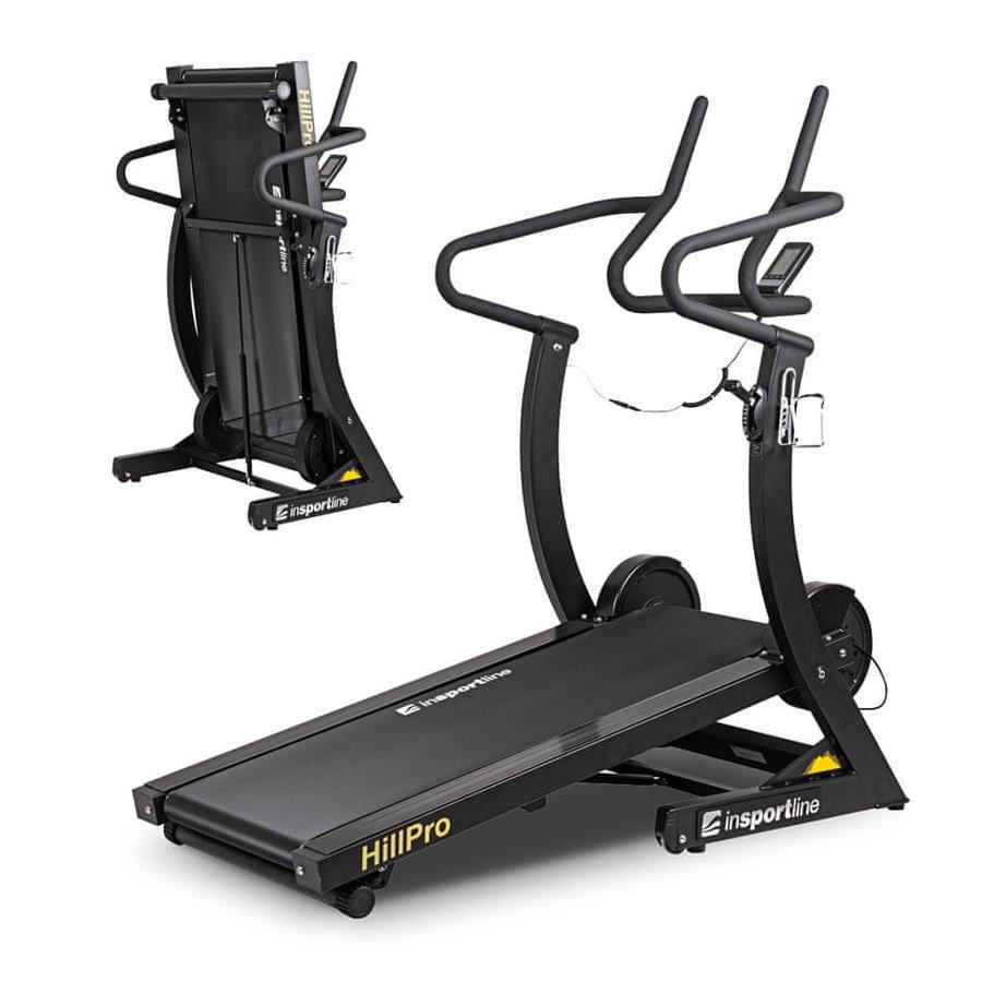 Běžecký pás Hill Pro, inSPORTline - nosnost 180 kg