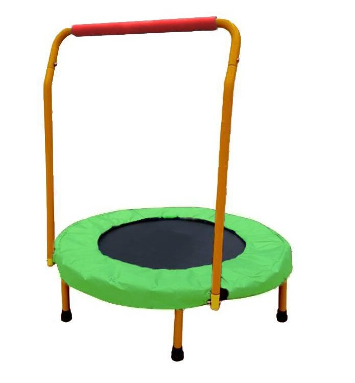 Kruhová fitness trampolína s madlem Sedco - průměr 80 cm