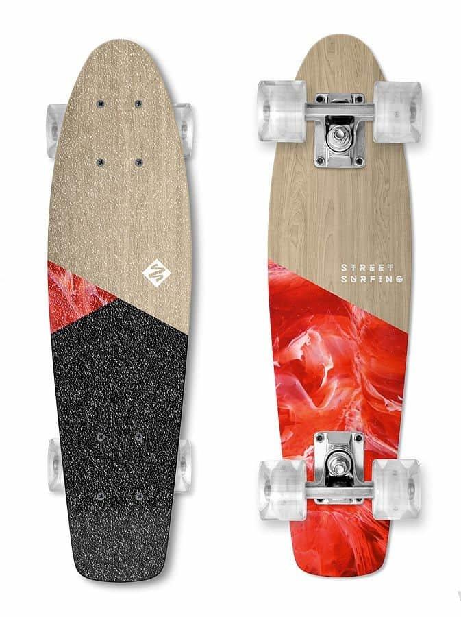 Skateboard - Skateboard Street Surfing BEACH BOARD WOOD Bloody Mary