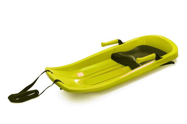 Boby - Acra Champion plastový bob 05-A2032 - žlutý