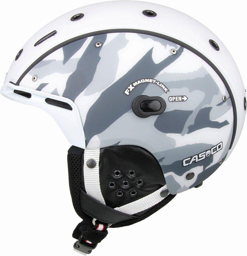 Šedá pánská helma na snowboard Casco - velikost L