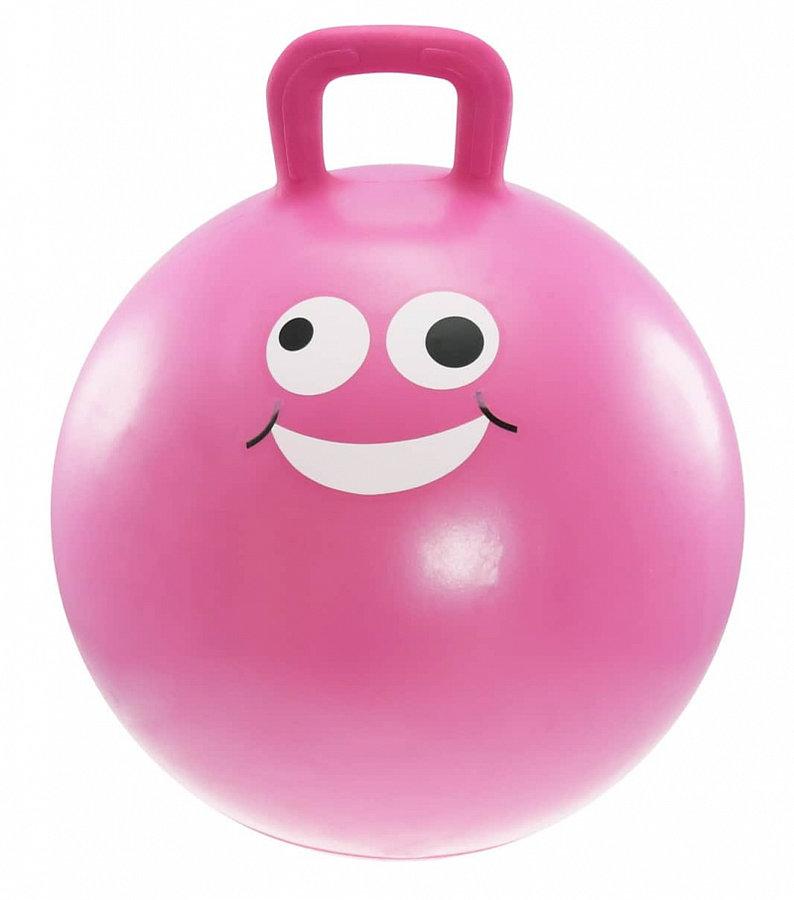 Růžový skákací míč Lifefit - průměr 45 cm