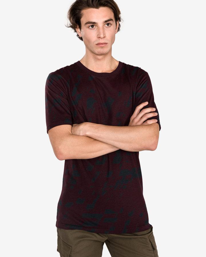 Červené pánské tričko s krátkým rukávem Pepe Jeans