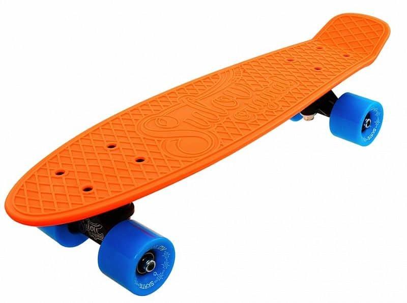 "Pennyboard - Penny board 22"" SULOV NEON SPEEDWAY oranžovo-modrý"