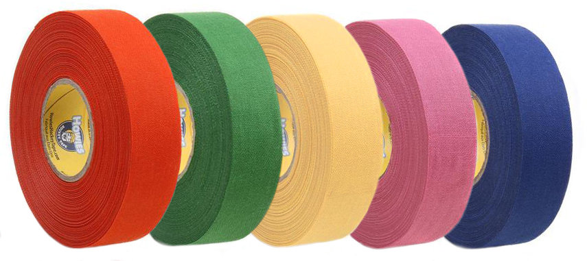 Hokejová páska - Izolace na hokejky Howies Colored 23 m x 25 mm Barva: růžová