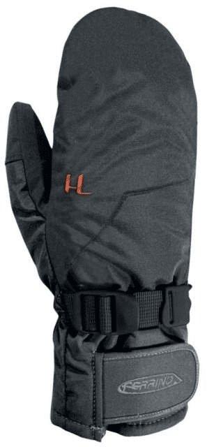 Černé lyžařské rukavice Ferrino - velikost XL