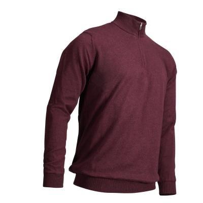 Červený pánský golfový svetr Inesis