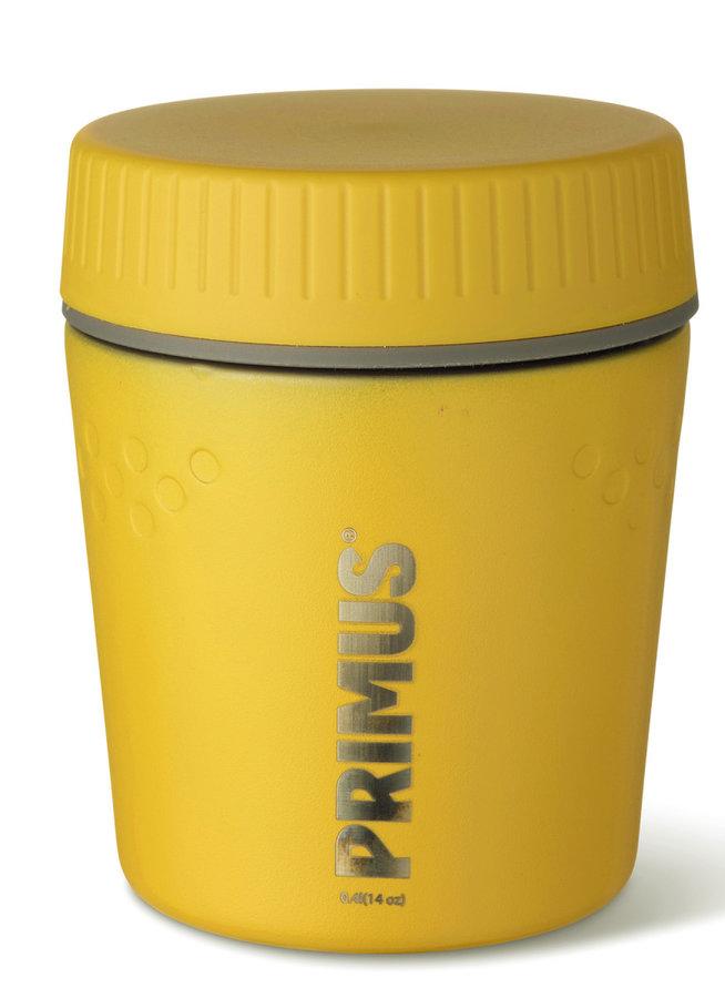 Žlutá termoska na jídlo Primus - objem 0,4 l