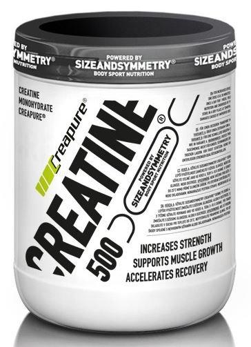 Kreatin - Sizeandsymmetry Creatine Creapure 500 g