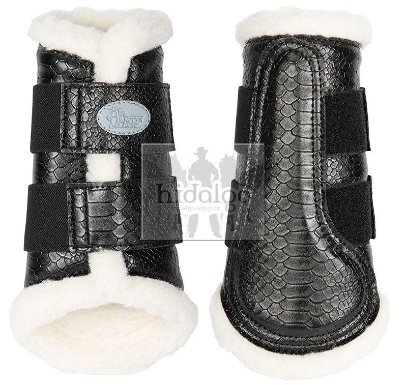 Kamaše pro koně - Kamaše šlachovky Flextrainer Snake Harry´s Horse Velikost: XL, Barva: Černá