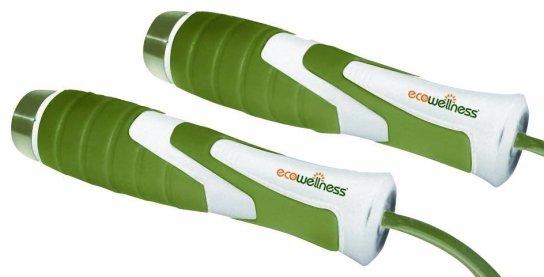 Bílé švihadlo ECOWELLNESS - délka 275 cm