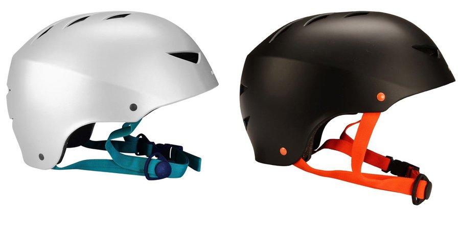 Cyklistická helma - Nijdam Aggressive stříbrná S