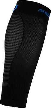Černé cyklistické návleky na nohy Sensor