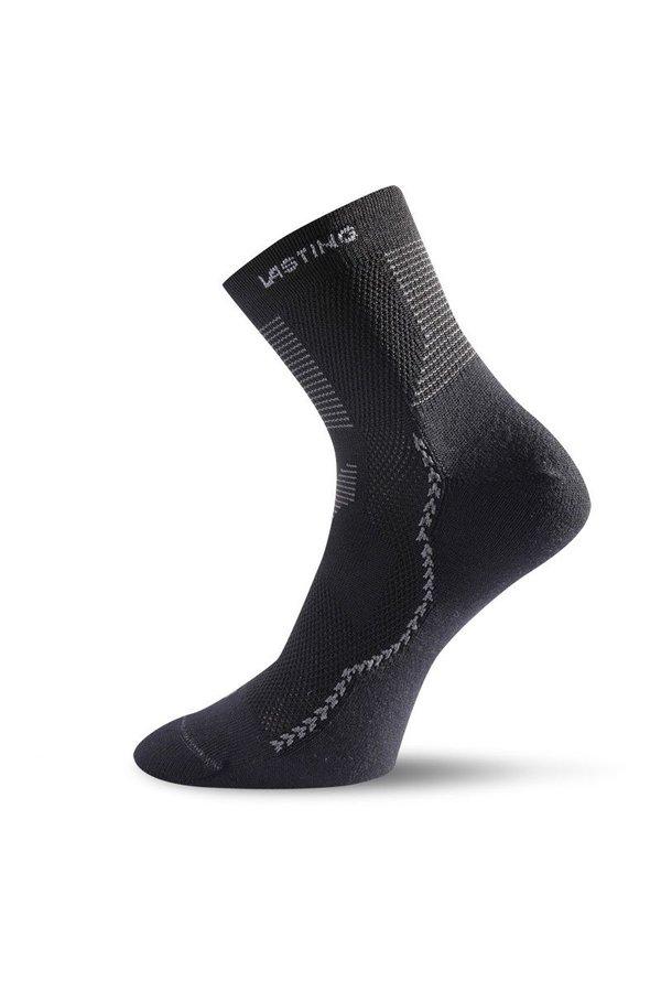 Černé pánské trekové ponožky Lasting