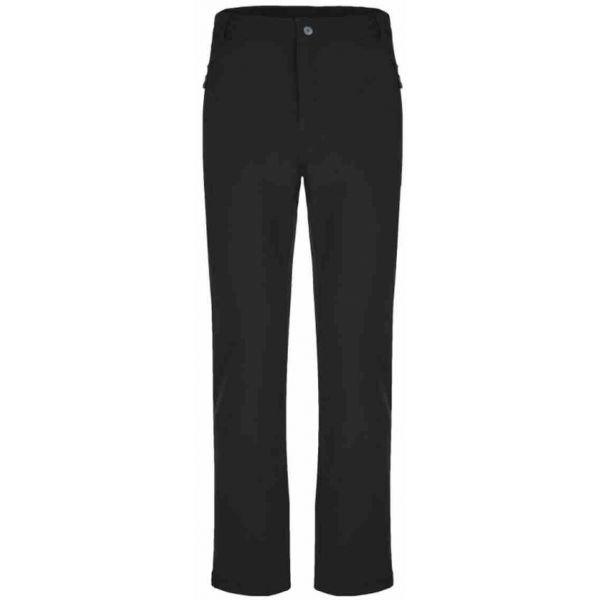 Černé softshellové zimní pánské kalhoty Loap - velikost XL