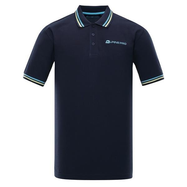 Modrá pánská polokošile s krátkým rukávem Alpine Pro - velikost L