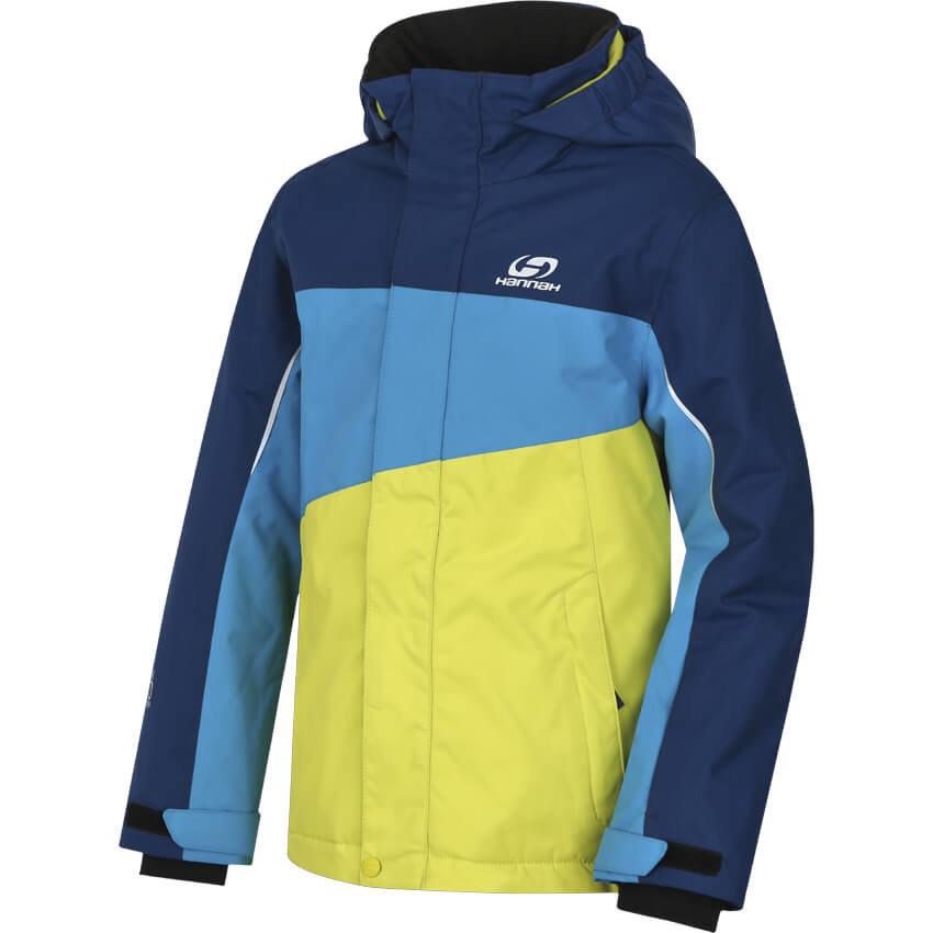 Modro-žlutá dětská lyžařská bunda Hannah
