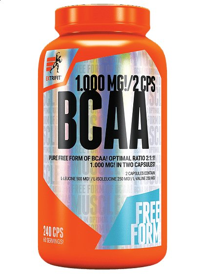 BCAA - Extrifit BCAA 2:1:1 Pure 240 tablet