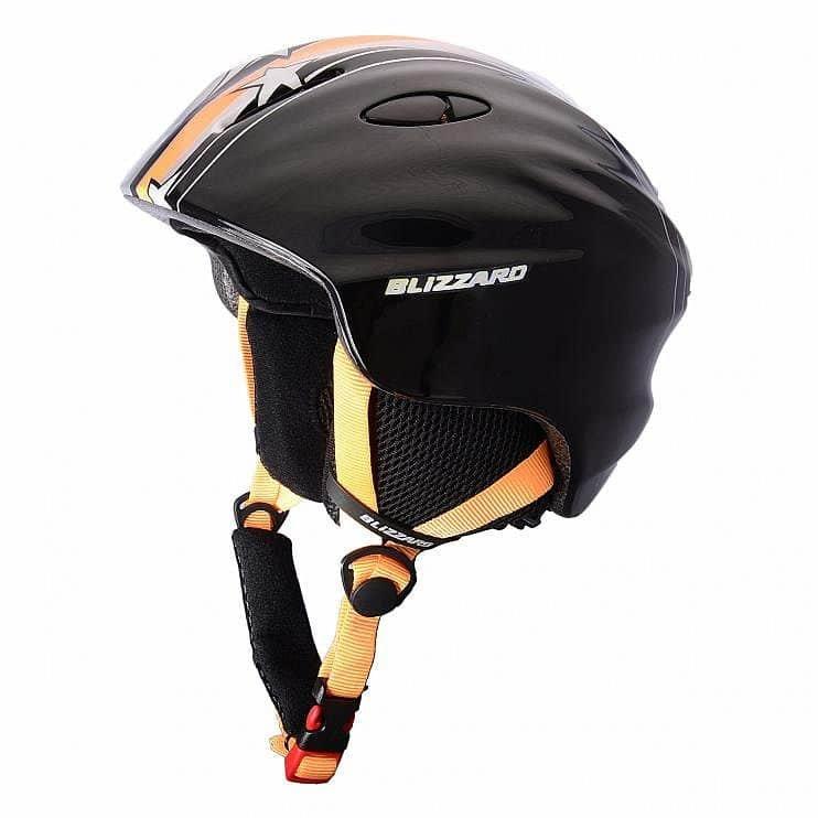 Černo-oranžová lyžařská helma Blizzard - velikost 48-52 cm