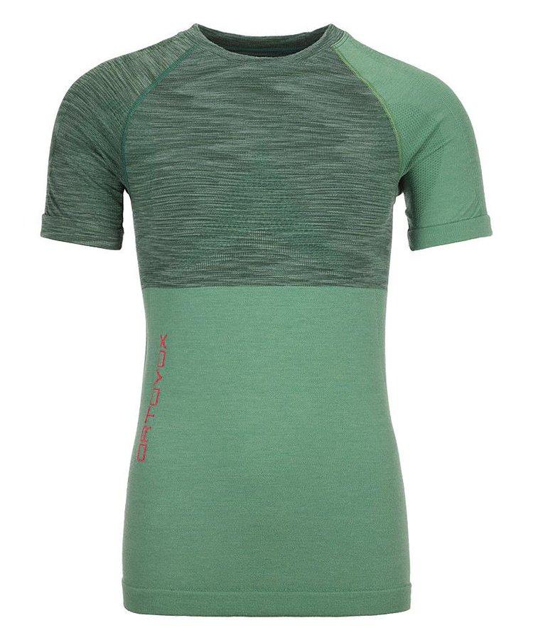 Zelené dámské termo tričko s krátkým rukávem Ortovox