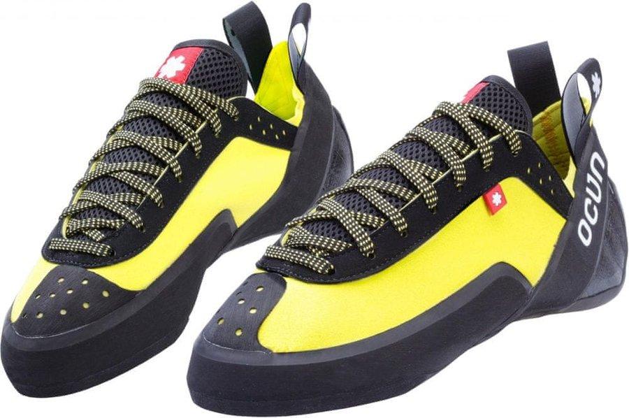 Černo-žluté lezečky Ocún