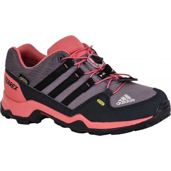 Růžové chlapecké trekové boty Adidas
