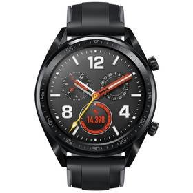 Černé chytré hodinky Watch GT Sport, Huawei