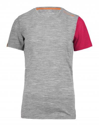 Šedé dámské termo tričko Ortovox