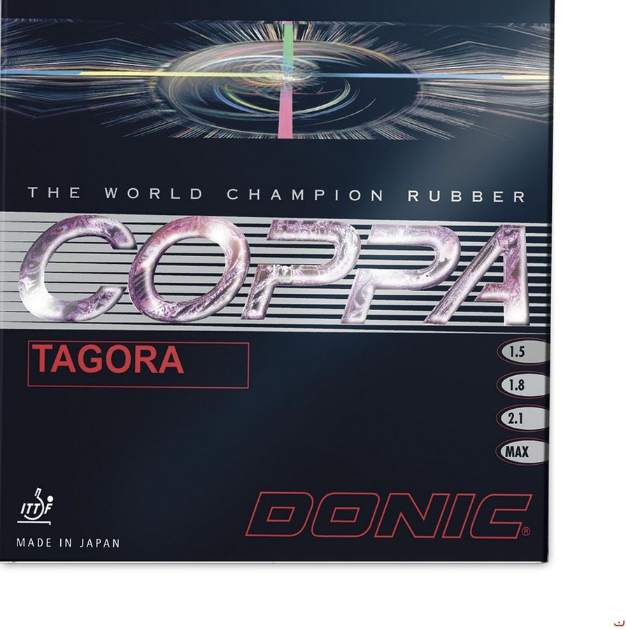 Potah na pálku Coppa Tagora, Donic