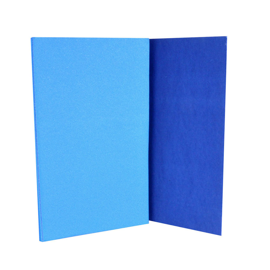 Modrá podložka na cvičení Insportline - tloušťka 0,8 cm