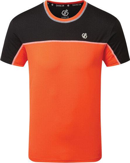 Červené pánské funkční tričko s krátkým rukávem Dare 2b