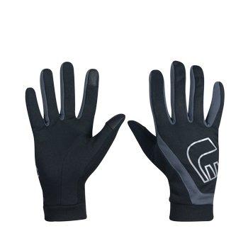 Černé dámské nebo pánské běžecké rukavice Thermal Gloves, Newline - velikost XS
