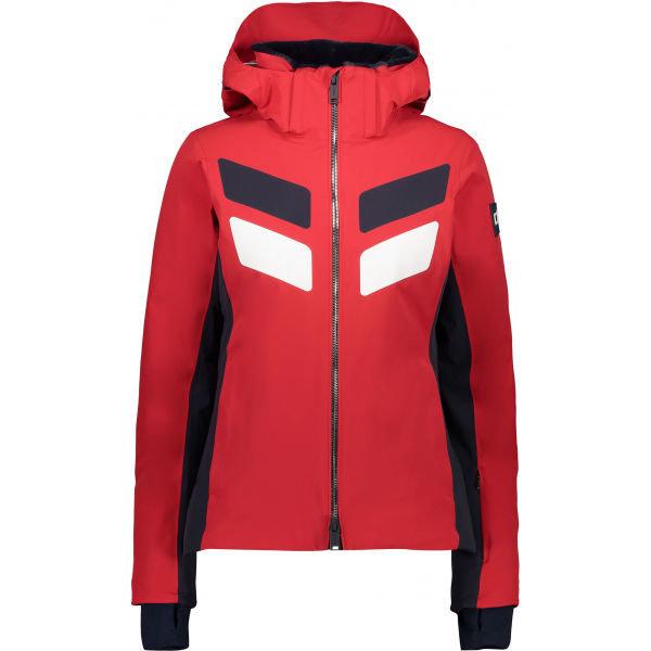 Červená dámská lyžařská bunda CMP