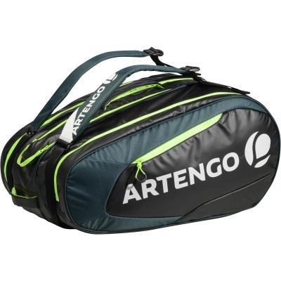 Černo-zelená tenisová taška Artengo