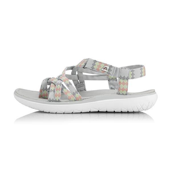 Šedé dámské sandály Alpine Pro