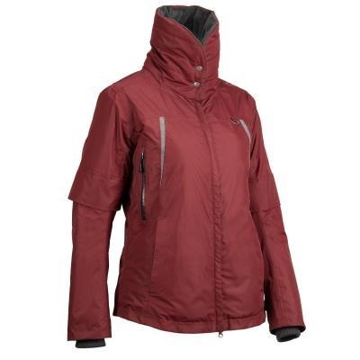 Červená dámská jezdecká bunda Fouganza - velikost XS