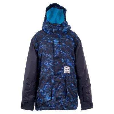 Modrá dívčí snowboardová bunda Wed'ze