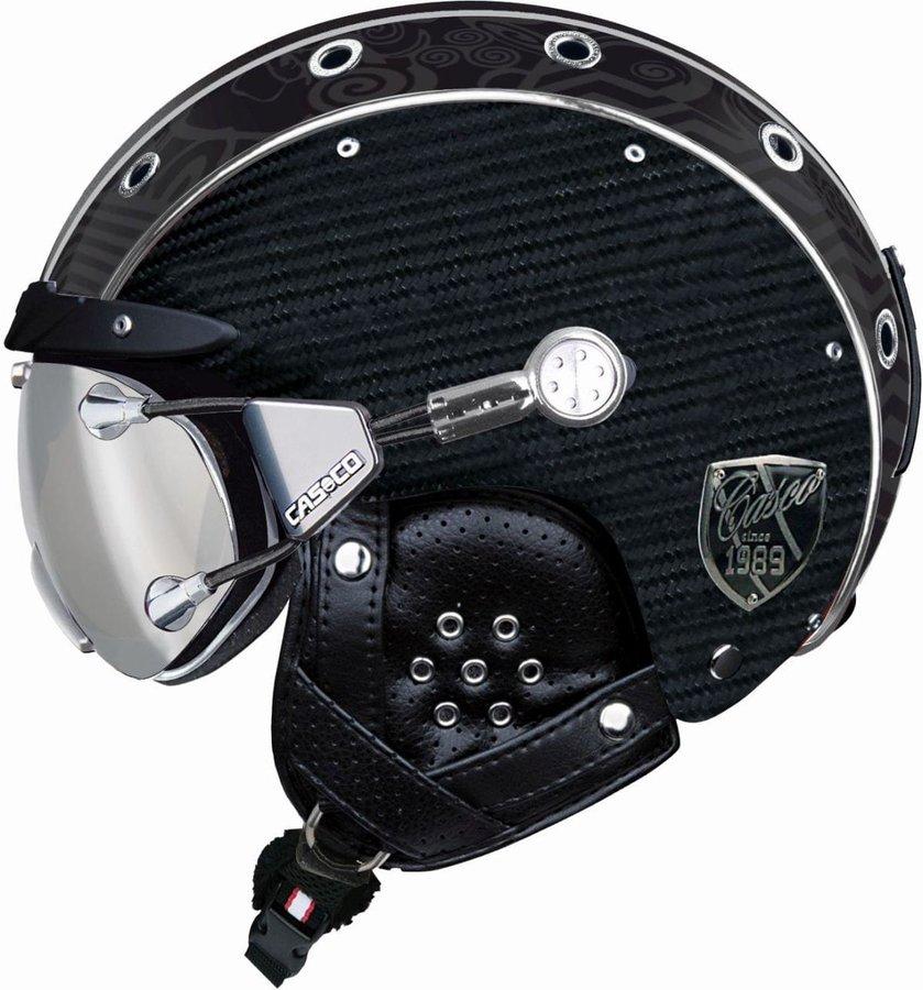 Černá pánská helma na snowboard Casco - velikost M