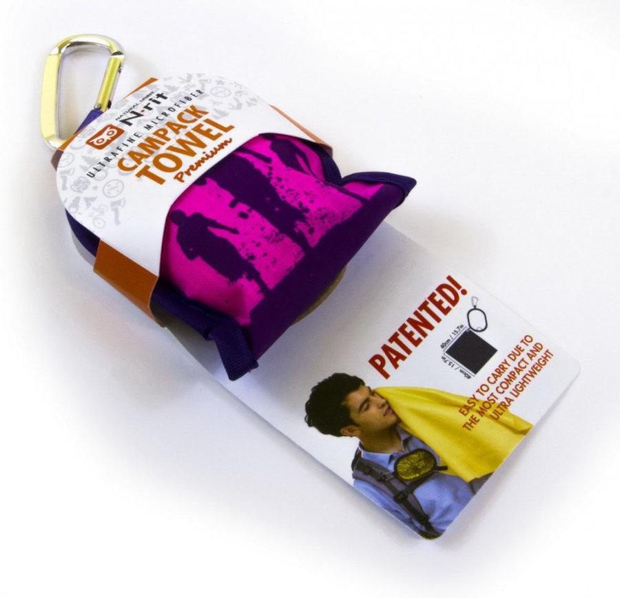 Ručník - Ručník N-Rit Campack Towel Premium Barva: růžová